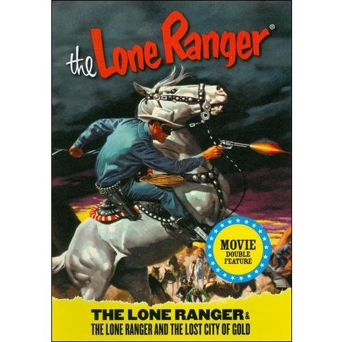 The Lone Ranger (1956) / The Lone Ranger And The Lost City Of Gold (1958) (Full Frame)