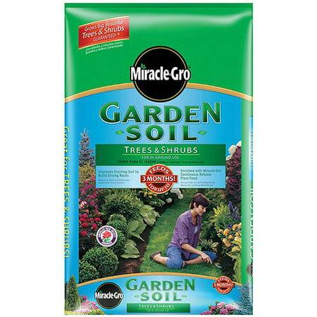 Miracle Gro 73351300 Garden Soil For Trees And Shrubs 1