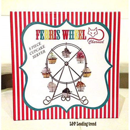 Cupcake Party Theme (Charmed Ferris Wheel Cupcake Stand for Carnival and Circus Theme)