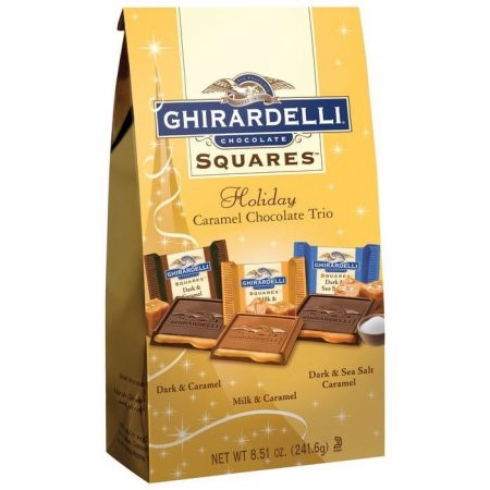 Ghirardelli Chocolate Squares, Holiday Chocolate Trio, 8.51 Oz