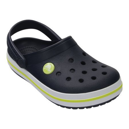 Crocs Kids' Crocband Original Clogs - 10998 - Navy/Citrus (Camo Crocs Kids)