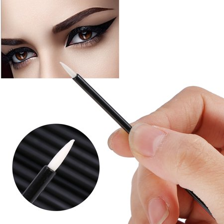 OTVIAP Makeup Tool,50PCS/Set Disposable Eyeliner Brush Eyeshadow Applicator Eyes Makeup Cosmetic Tool, Eye Makeup Tool