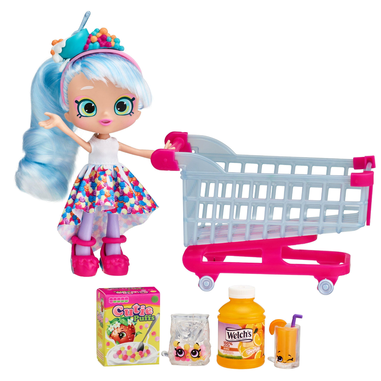 Shopkins Real Littles Shopp'n Cart Pack Doll Playset