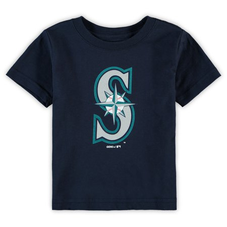 Seattle Mariners Infant Primary Team Logo T-Shirt - Navy