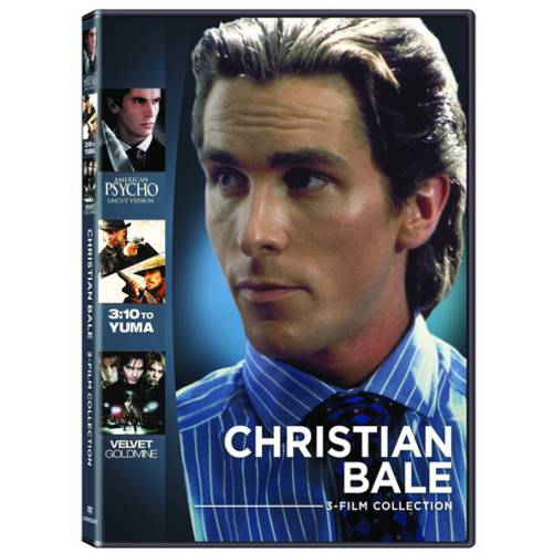 Christian Bale Collection: 3:10 To Yuma   American Psycho   Velvet Goldmine (Widescreen) by Trimark Home Video