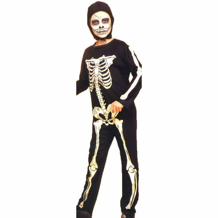 Skeleton Child Halloween Costume](Halloween Costumes Skeleton Gloves)