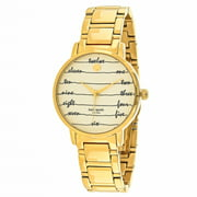 Kate Spade New York Women's Gramercy Watch Quartz Mineral Crystal KSW1060