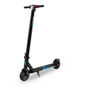 Hover-1 Eagle Electric Folding Scooter w/ 6.5 Wheels Front & Back, 15 MPH Max Speed, LED Headlight, LCD Display, Built-In Suspension