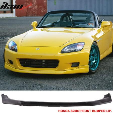 Fits 00-03 S2000 2Dr AP1 T-R Urethane Front Bumper Lip Spoiler 01 PU Body Kit