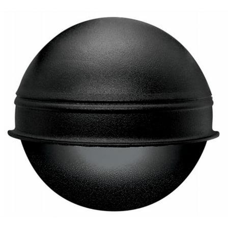 Black 7 Watt Round Deck Light - image 1 of 1