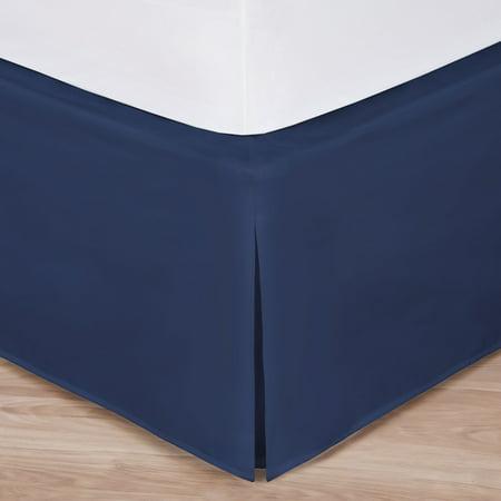 Crochet Tailored Split Corner Bedskirt - King Size Easy-to-Use Wraparound Bed skirt: Tailored, Split Corner Design, Non-Slip Band. 14