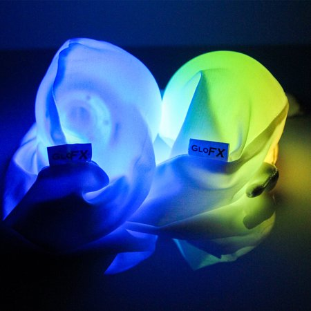 GloFX LED Sock Poi Set: 9-Mode Light Up Balls Set of 2 - Glowing Flow Arts](Ball That Lights Up)