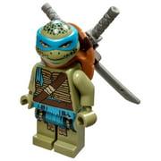 LEGO Teenage Mutant Ninja Turtles Leonardo Minifigure [Movie Version] [No Packaging]