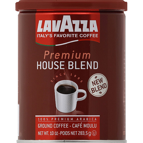 Lavazza Premium House Blend Ground Coffee, 10 oz, (Pack of 12)