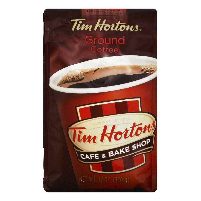 Tim Hortons Ground Coffee, 12 OZ (Pack of 6)