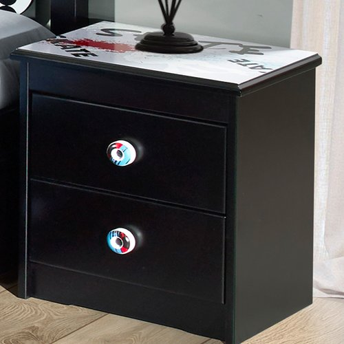Zoomie Kids Desmond 2 Drawer Nightstand