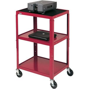Overhead Mobile - Bretford Adjustable Audio Visual Cart A2642-TZ - Cart for TV, overhead projector, VCR - steel - topaz (A2642-TZ) (Bretford Manufacturing)