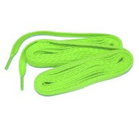 Bright Neon Green ProATHLETIC 8mm Flat 5/16 Style Sneaker Shoelaces (2 Pair Pack, 84 Inch 213 cm)