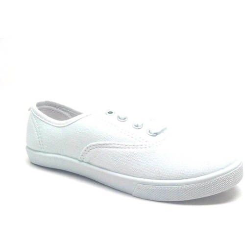 faded lace up canvas casual shoe walmart