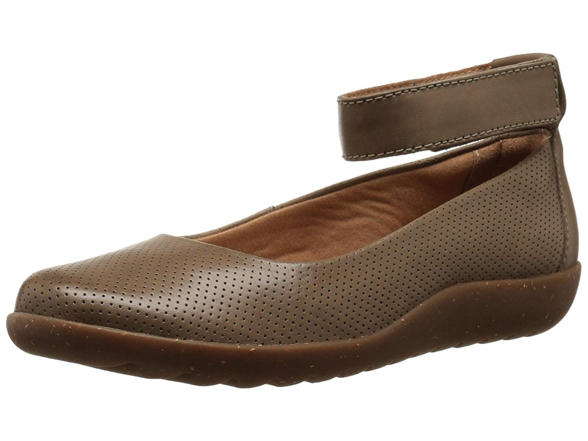 10da110aac65 Clarks Womens Medora Nina Closed Toe Ankle Strap Slide