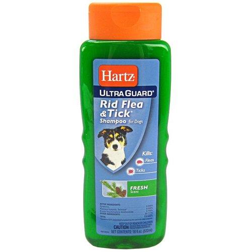 Hartz UltraGuard Rid Flea & Tick Shampoo Fresh Scent 18 oz