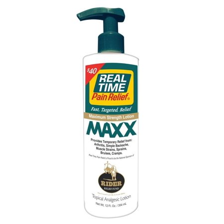Creme Pump (Real Time Pain Relief Maxx Cream 12oz Pump)
