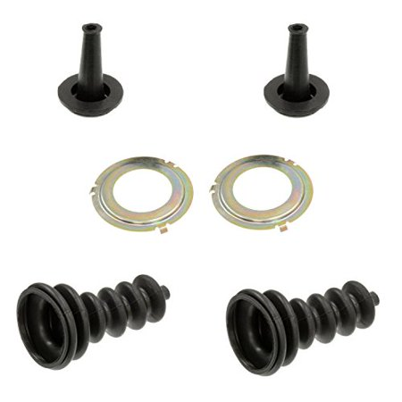 C3 Corvette Headlight Actuator Rod Seal 3 Piece Dual Kit For Both Headlights Fits: 68 through 82 Corvettes