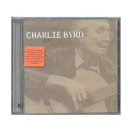 FOR LOUIS is a tribute to the music and spirit of Louis Armstrong. It is also Charlie Byrd's last recorded work.Personnel: Charlie Byrd (nylon-string guitar); Steve Wilson (saxophone); Joe Wilder (trumpet); Robert Redd (piano); Dennis Irwin (bass); Chuck Redd (drums).Recorded at Clinton Studios, New York, New York on September 10 & 11, 1999.Includes liner notes by Jim Ohlschmidt & John Burk.