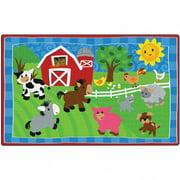 Cutie Barnyard Carpet - 3' x 5'
