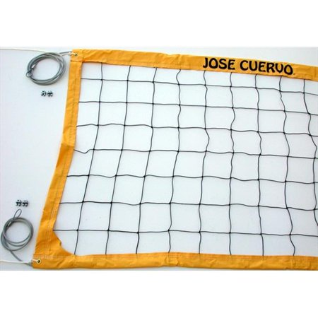 Home Court JCVCC Jose Cuervo Deluxe Cable Volleyball Net