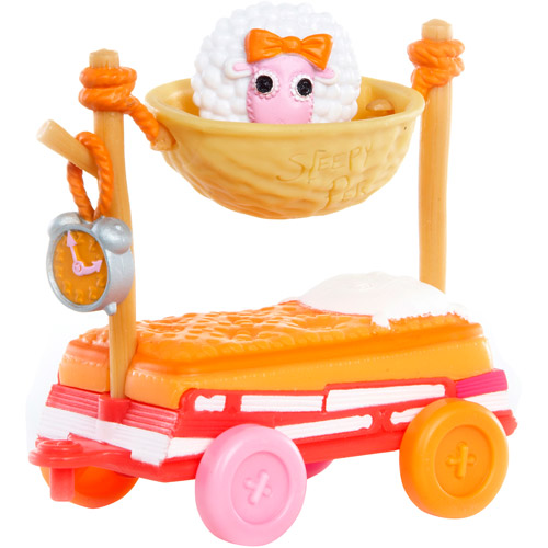 Mini Lalaloopsy Silly Pet Parade, Sleepy Pet Wagon