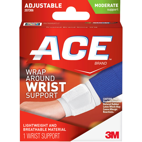 ACE Wrap Around Wrist Support, One Size Adjustable, 207306