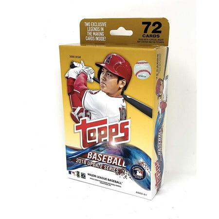 2018 Topps Updates Baseball Hanger Pack