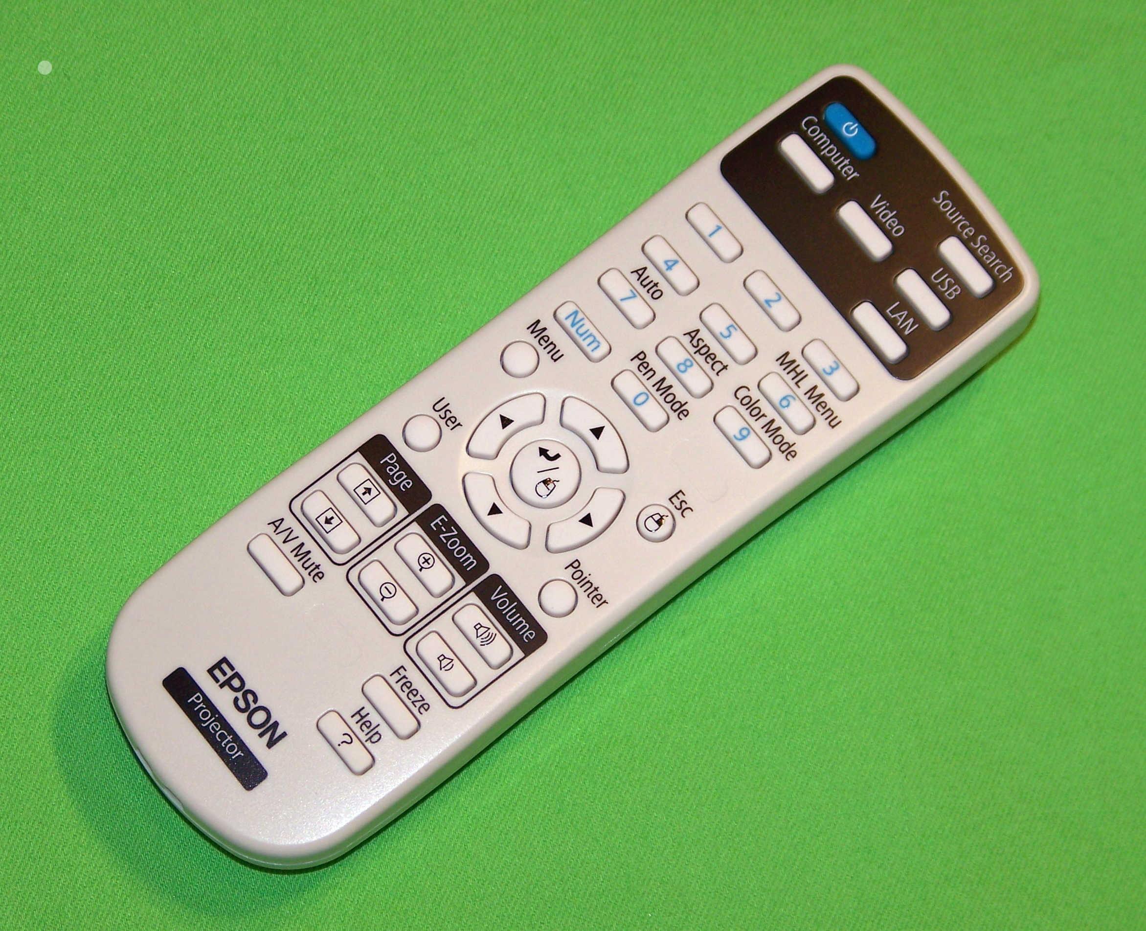 Epson Remote Control Shipped With H291a H292a H336a H419a H416a H337a H373a