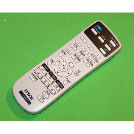 OEM Epson Projector Remote Control Originally Shipped With: BrightLink 575Wi, 585Wi, 595Wi Bright Link