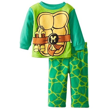 Teenage Mutant Ninja Turtles Toddler 2Pc Pajama Set - 2T - Ninja Turtle Footed Pajamas For Adults