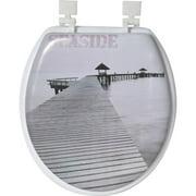 Evideco Seaside Round Toilet Seat