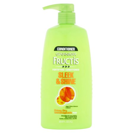 Garnier Fructis Sleek & Shine Fortifying Conditioner, 33.8 fl oz ...