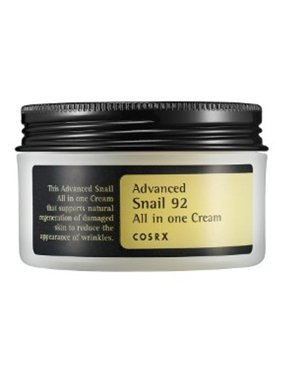 COSRX Advanced Snail 92 All-in-One Moisturizer Cream, 3.38 Oz