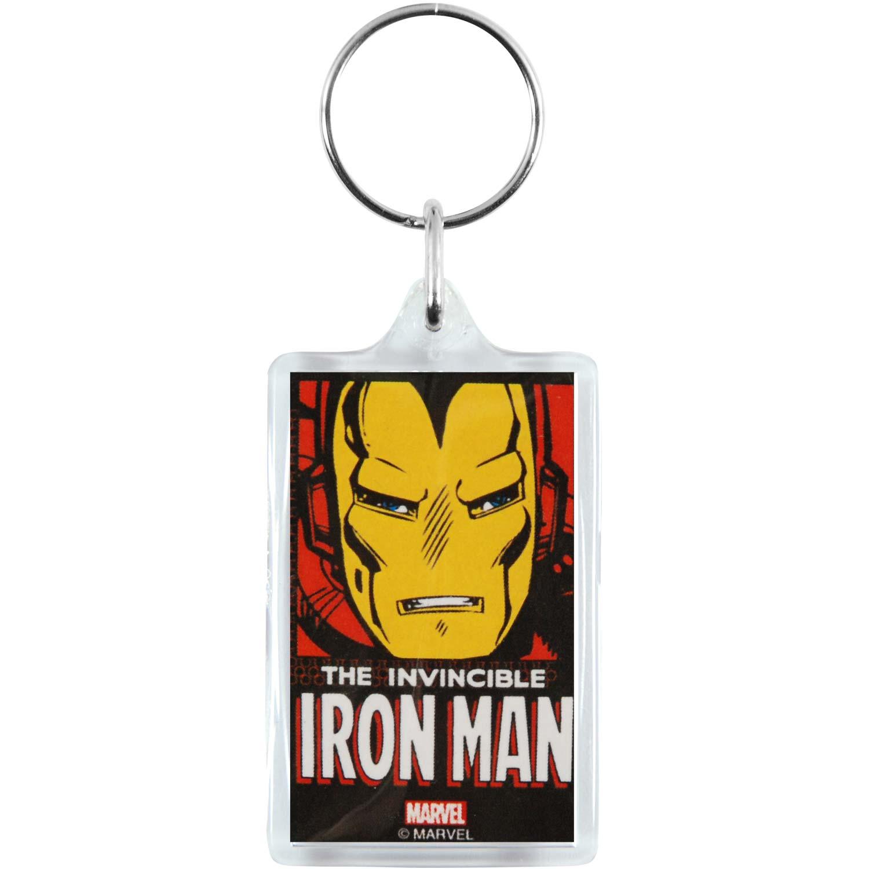 Iron Man Men's Plastic Key Chain Multi