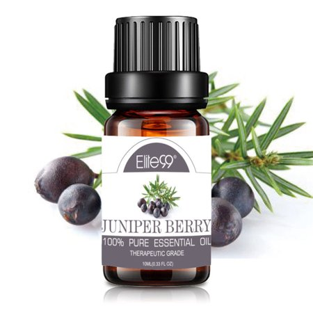 Juniper Massage Oil (Elite99 10ML Juniper Essential Oil 100% Pure & Natural Aromatherapy Oils For Diffuser,Massage,Relaxation )