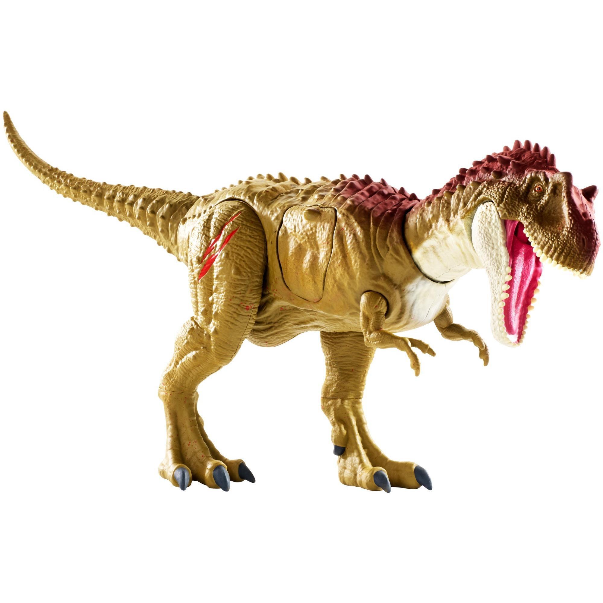 Jurassic World Battle Damage Albertosaurus Dinosaur