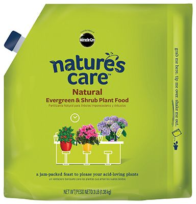 Miracle-Gro Nature's Care Natural Evergreen & Shrub Plant Food