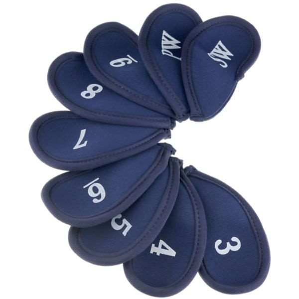 Proactive Golf Neoprene Iron Cover Set Navy