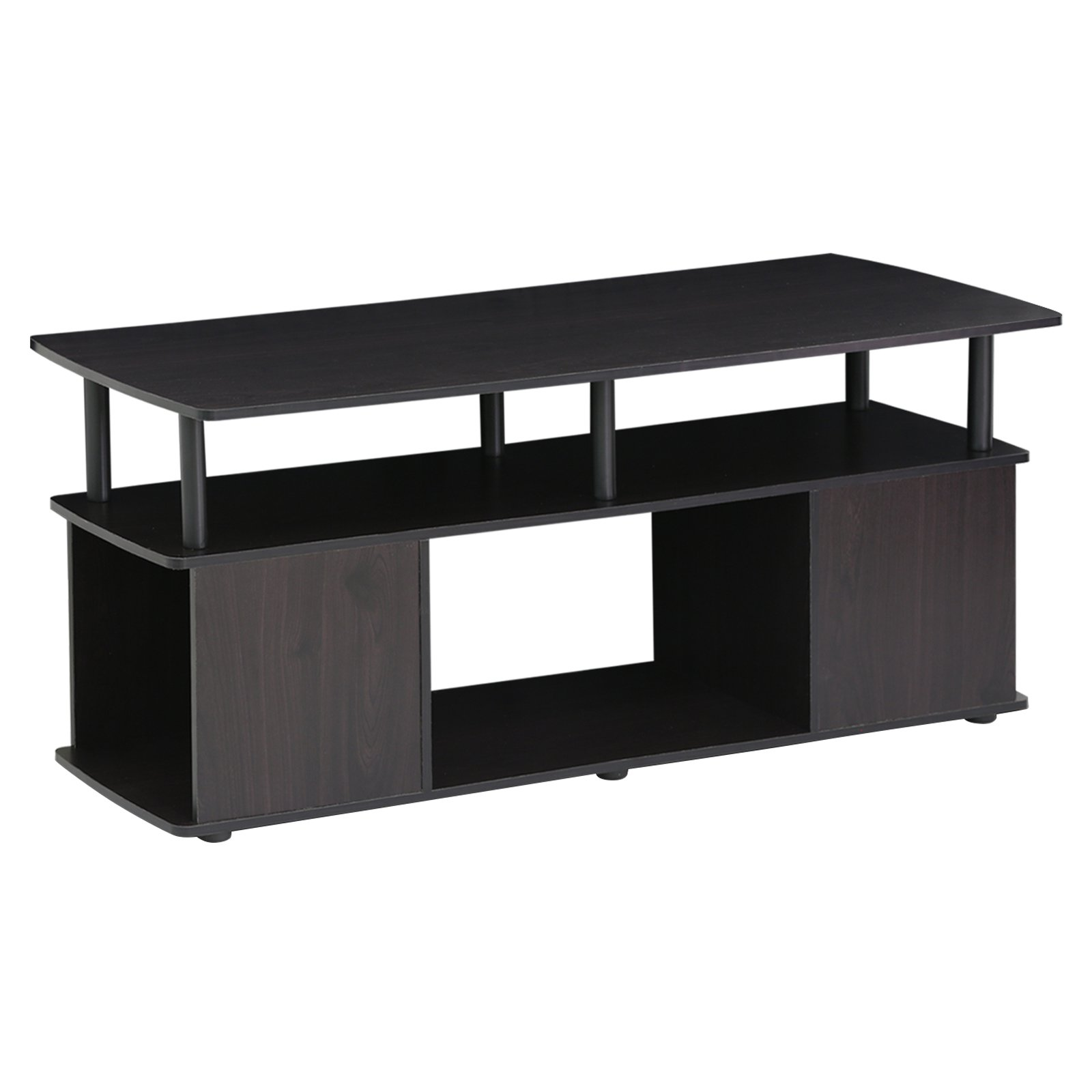 Furinno JAYA Utility Design Coffee Table BKW Walmart