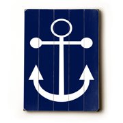 Artehouse LLC Anchor by Amanada Catherine Graphic Art Plaque
