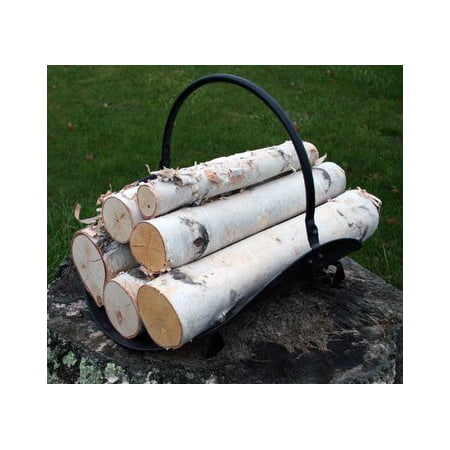 Bronze Fireplace Log - White Birch Log Set for Fireplace