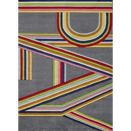Momeni Lil Mo Hipster 5' X 7' Rug in Pink - image 1 de 1