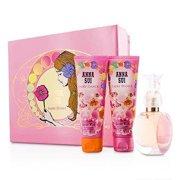 Anna Sui Secret Wish Fairy Dance Coffret: Eau De Toilette Spray 50ml/1.7oz + Body Lotion 90ml/3oz + Shower Gel 90ml/3oz