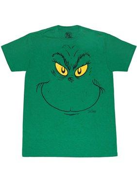 Dr. Seuss Grinch Face T-Shirt